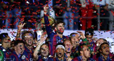 Ligue des champions: le Barça dans la légende
