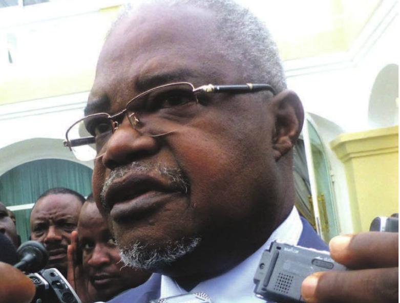 L'ancien Premier ministre congolais Ange Edouard Poungui