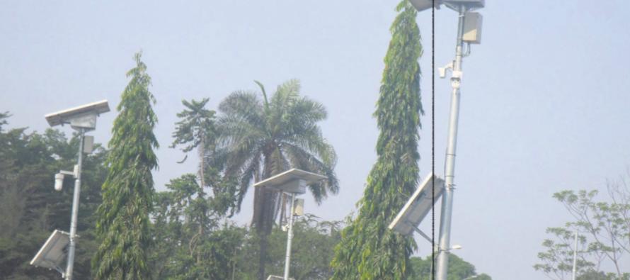 La Ville de Brazzaville se dote des caméras de surveillance
