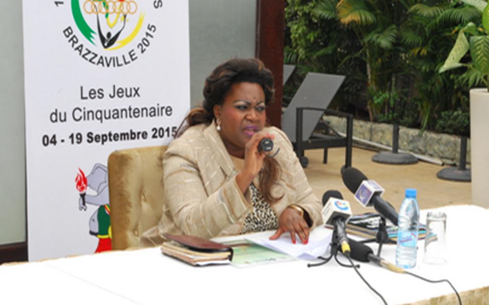 La présidente de ladite commission, Claudia Lemboumba Sassou|DR