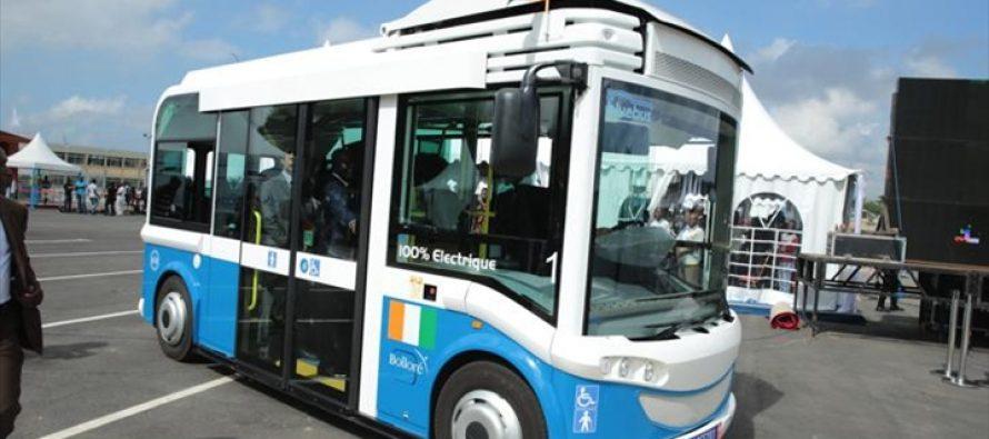 Véhicules électriques : les Bluecars de Bolloré débarquent à Brazzaville