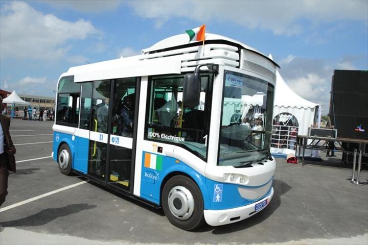 Image d'archive|Bus électriques à l'Université Félix Houphouët-Boigny d'Abidjan