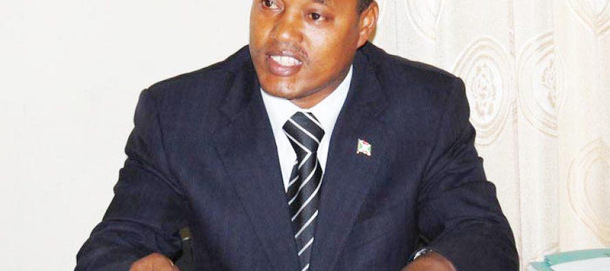 Nduwimana, ministre burundais : «Demander un nouveau report des élections au Burundi est une insulte»