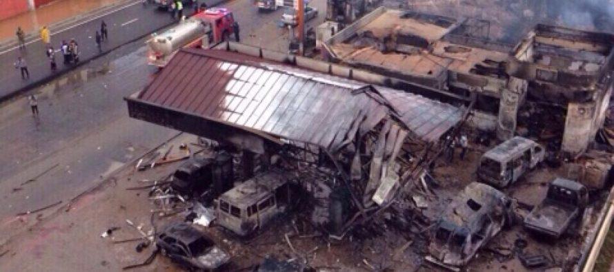 Ghana : plus de 100 morts dans l'incendie d'une station-service à Accra