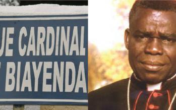 Brazzaville : L'avenue Foch rebaptisée avenue Cardinal Emile Biayenda