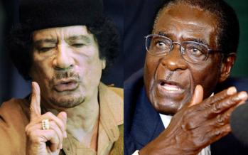 Mort de Kadhafi: « Le Nigeria et l'Afrique du sud ont trahi l'Afrique », selon Mugabe