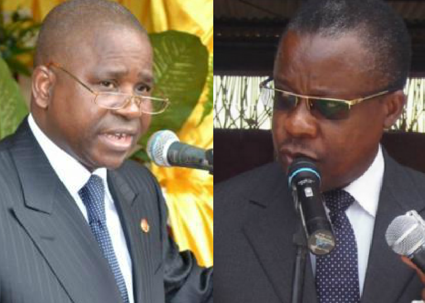 Pierre Ngolo et Alain Akouala
