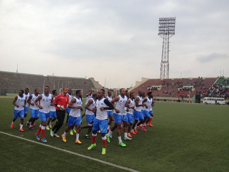 l'équipe nationale de la RDC