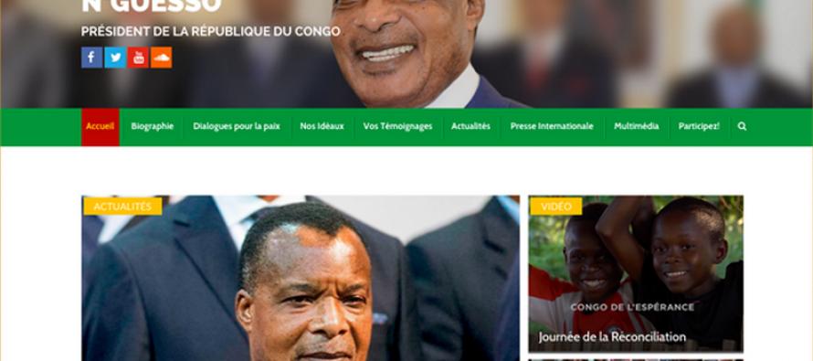 Congo : Le nouveau site internet du Président Sassou est déjà disponible
