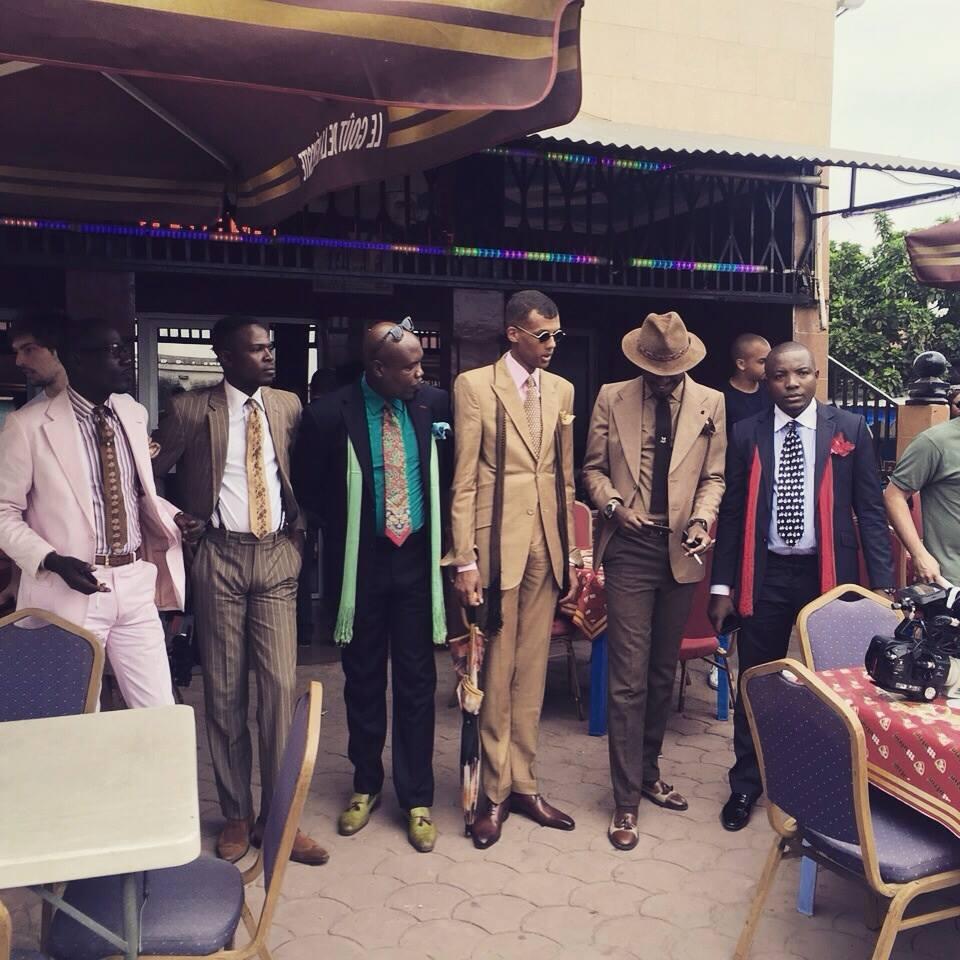 Stromae en mode sapologue à Brazzaville