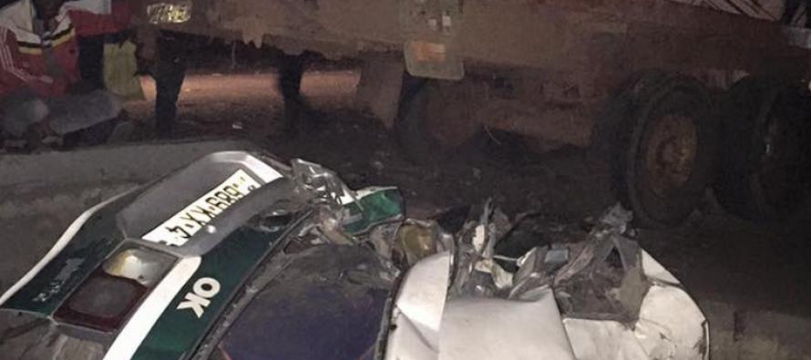 Brazzaville : un accident cause de nombreuses victimes à Ngamakosso