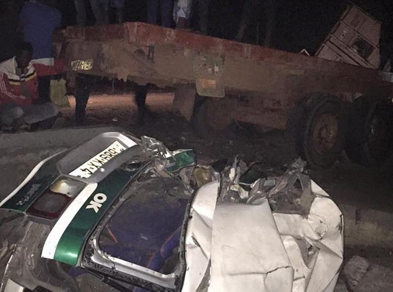 ccident cause de nombreuses victimes à Ngamakosso