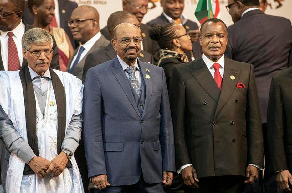 Omar el-Béchir et Sassou