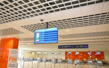 VIDÉO – RDC : l'aéroport international de N'djili doté d'une nouvelle aérogare modulaire