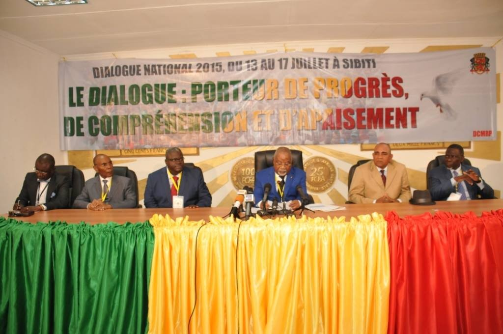 Dialogue national à Sibiti