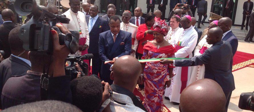 Congo – Religion : le siège de l'ACERAC inauguré par le président Sassou