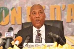 Le ministre d'État, directeur de cabinet du président de la République, Firmin Ayessa