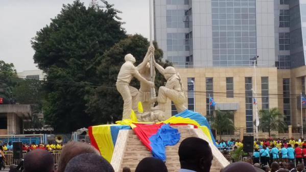 RDC inauguration de l'immeuble de l'hôtel du gouvernement de la République