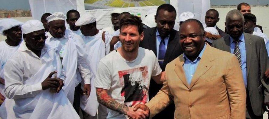 3,5 millions d'euros touché par Messi pour sa visite au Gabon ?