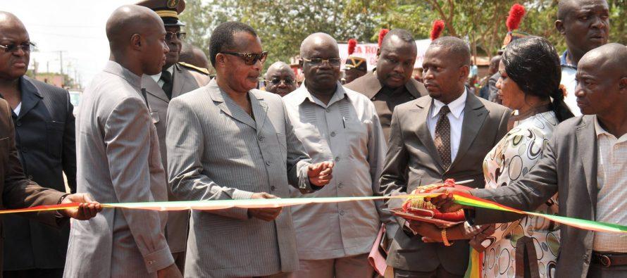 Pour Sassou N'Guesso la construction de la Route Owando-Makoua-Ouesso est la réalisation d'un rêve