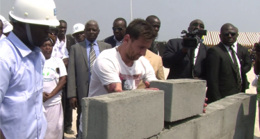 Les briques posées au Gabon par Lionel Messi ont disparu