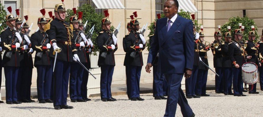 «Nous pensons que le débat national dans notre pays sera ouvert» Sassou à l'Élysée