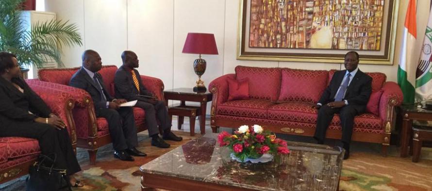 Côte d'Ivoire : un Emissaire de Sassou N'guesso chez Ouattara