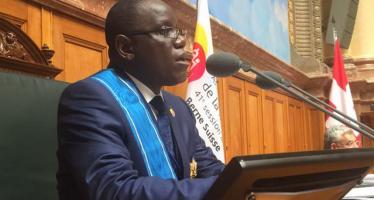 RDC : Aubin Minaku, élu président de l'Assemblée parlementaire francophone