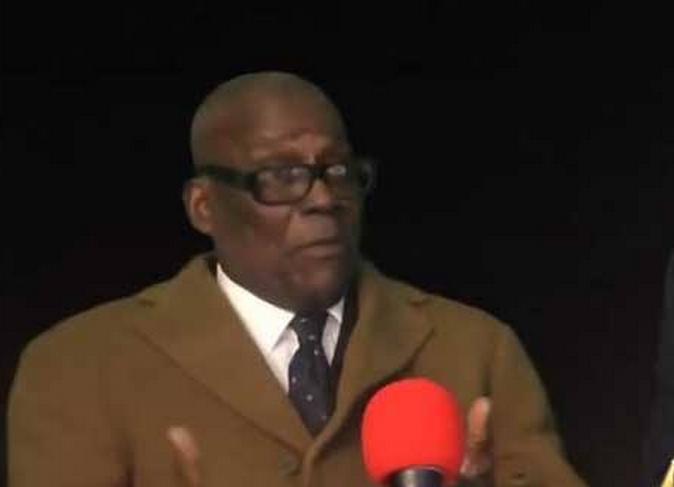 Le professeur Côme Mankassa Capture d'écran Ziana Tv à Paris, le 31 décembre