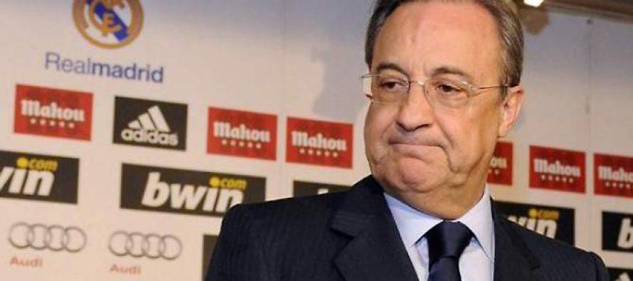 Le président du Real Madrid Florentino Perez «n'aime pas les joueurs noirs»