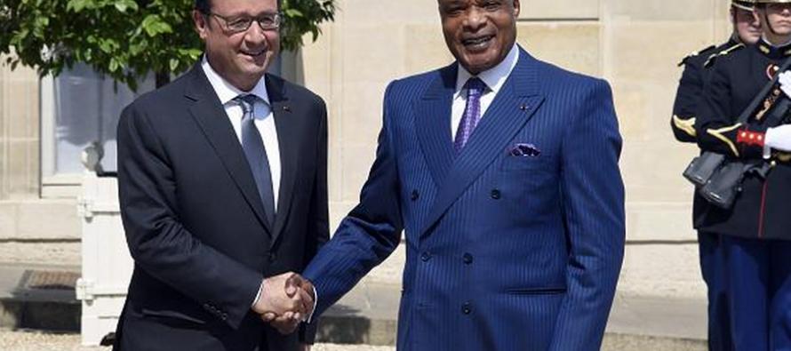 Congo : Hollande pas opposé au maintien de Sassou N'guesso