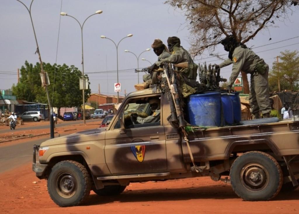 Soldats de l'armée tchadienne
