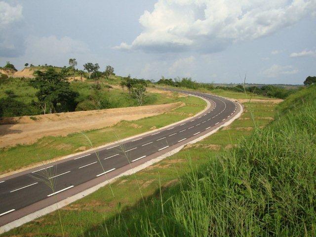 Image d'archive|La route Brazzaville-Kinkala - DR