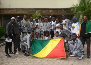 Les taekwondoins congolais