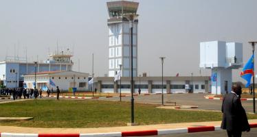 Le président Joseph Kabila inaugure la nouvelle tour de contrôle de l'aéroport de Lubumbashi