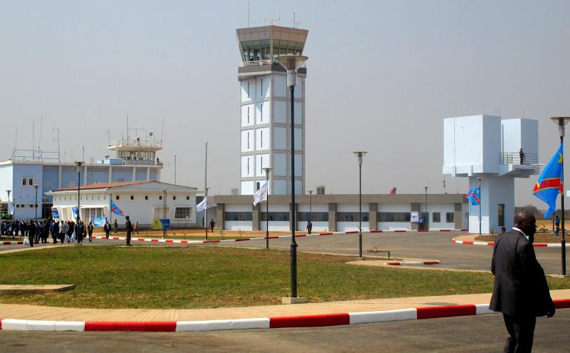 L'inauguration de l'aéroport de la Loano après sa rénovation. Radio Okapi. Ph/Paulin Munanga