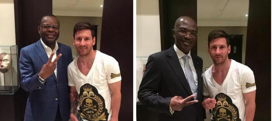 Messi au Gabon: la visite de la star du FC Barcelone ne plaît pas à tout le monde