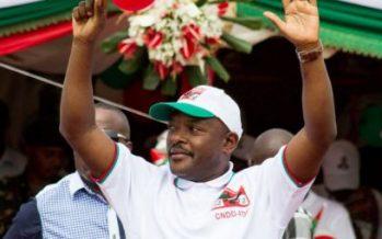 Nkurunziza réélu pour un troisième mandat au Burundi