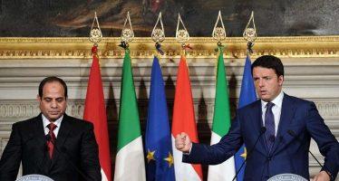 Matteo Renzi s'est dit «fier» d'être l'»ami» du président égyptien Sissi