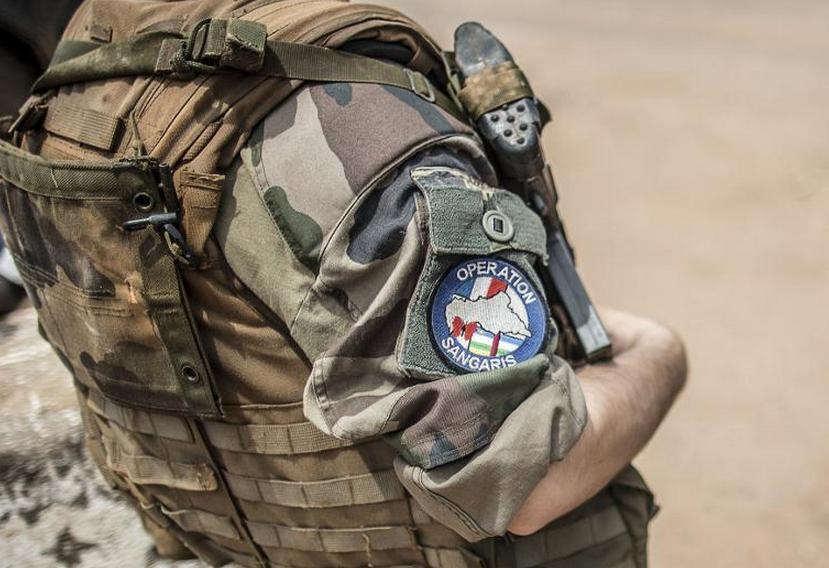 Un soldat français de l'opération Sangaris à Bangui le 4 juin 2014|AFP