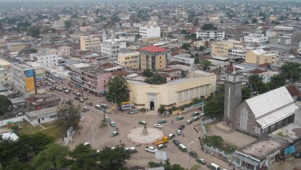 Vue du centre-ville de Brazzaville. Wikimedi