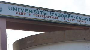 Université d'Abomey-Calavi|DR