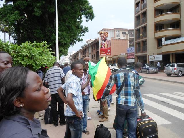 étudiants congolais en RDC