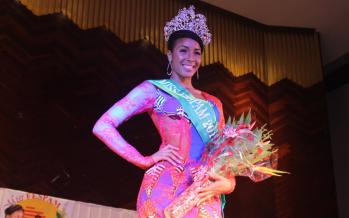 Congo – Brazzaville : l'Ivoirienne Hyllen Legre élue Miss Fespam 2015