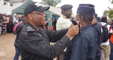 Pointe-Noire : 85 officiers et sous officiers de police promus