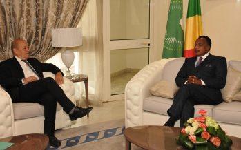 Jean Yves Le Drian chez Sassou N'Guesso Vers une normalisation de la situation à Bangui