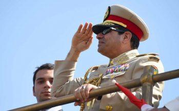 Le président égyptien a inauguré une nouvelle voie du canal de Suez
