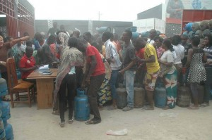 gaz butane au Congo