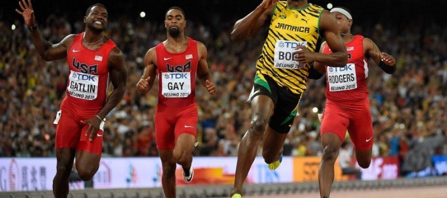 VIDÉO – Mondiaux d'athlétisme : Usain Bolt remporte le 100m devant Justin Gatlin