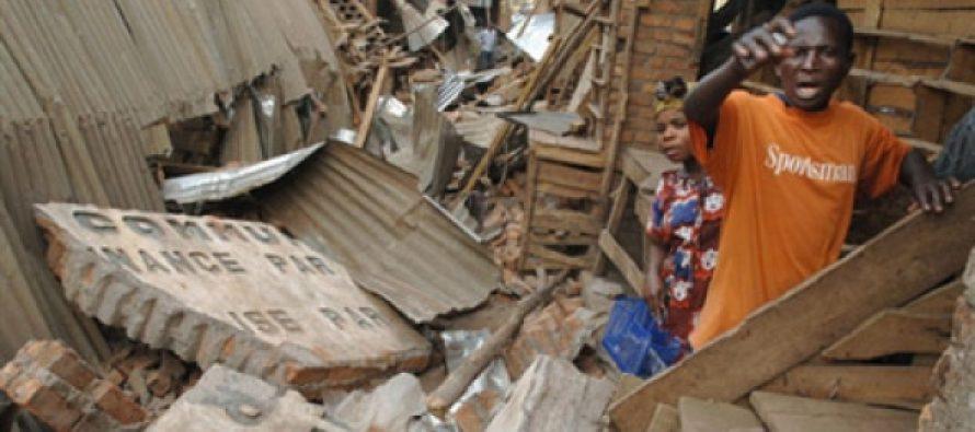 RDC: au moins un mort et des centaines de maisons détruites dans un séisme